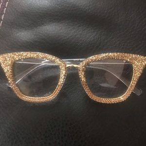 Bling personality glasses